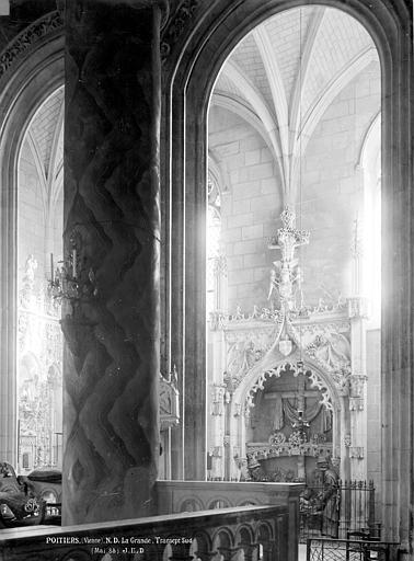 Eglise Notre-Dame-la-Grande Transept sud, Durand, Eugène (photographe),