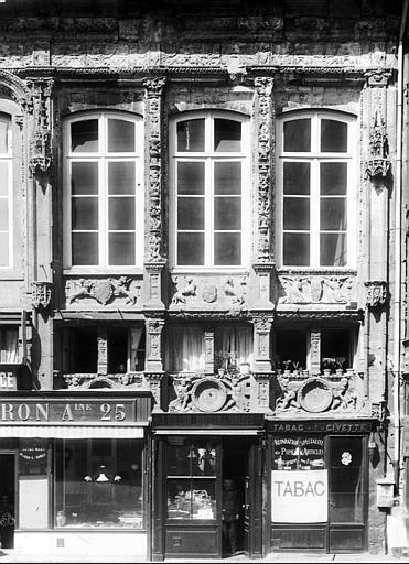 Chancellerie Façade sur la place, Durand, Eugène (photographe),