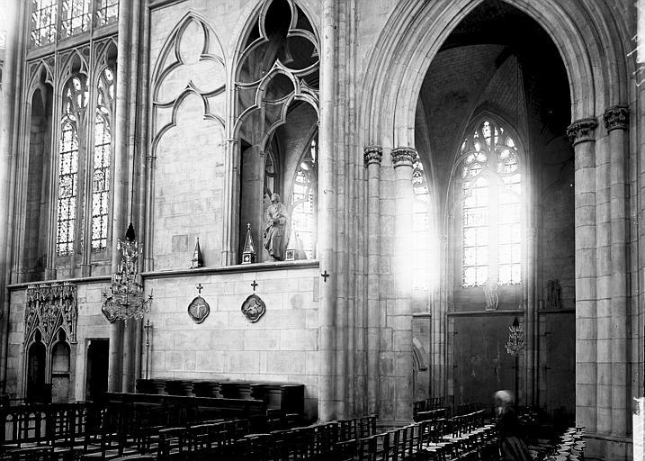 Eglise Saint-Urbain Choeur: partie basse, Enlart, Camille (historien),