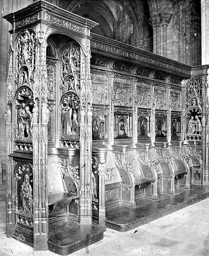 Basilique Saint-Denis Stalles du chœur, Mieusement, Médéric (photographe),