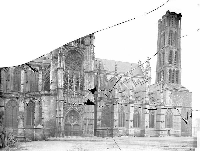 Cathédrale Saint-Etienne Ensemble nord, Mieusement, Médéric (photographe),