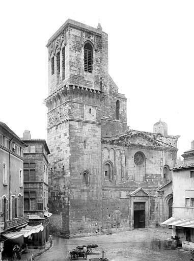 Cathédrale Notre-Dame-et-Saint-Castor Façade ouest, Mieusement, Médéric (photographe),