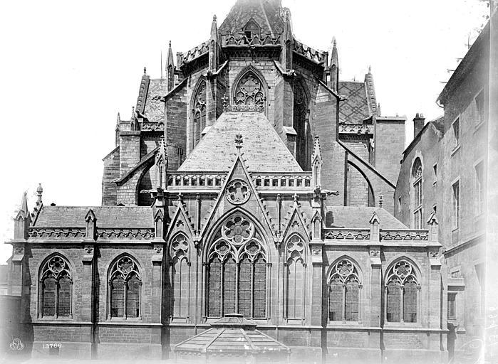 Cathédrale Saint-Bénigne Abside, Mieusement, Médéric (photographe),