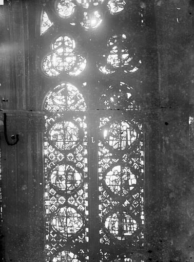 Cathédrale Notre-Dame Chapelles du choeur, vitrail J, Gaudin,