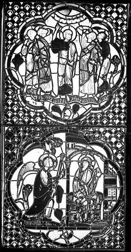 Cathédrale Saint-Jean Vitrail : La Rédemption. L'Annonciation, ,