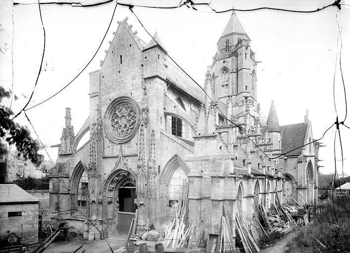 Eglise de Saint-Etienne-le-Vieux (ancienne) Ensemble sud-ouest, Durand, Jean-Eugène (photographe),
