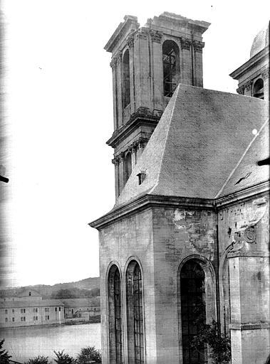 Abbaye Sainte-Marie-Majeure (ancienne), Petit séminaire (ancien) Eglise. Clocher, Service photographique,