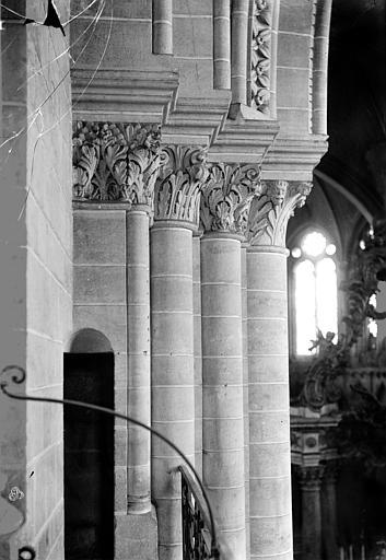 Cathédrale Saint-Maurice Chapiteaux, Carlier (photographe),