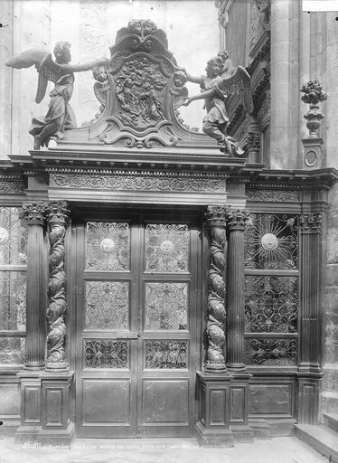 Eglise Porte et stalles du choeur, Durand, Eugène (photographe),