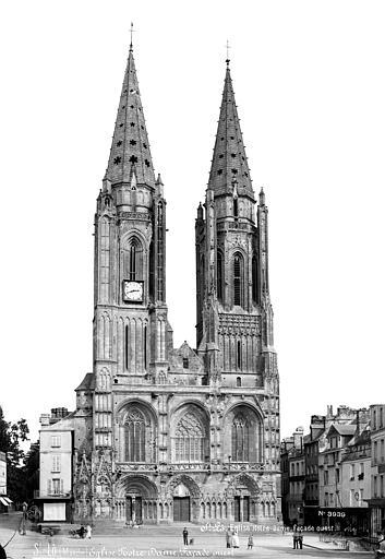 Eglise Notre-Dame Façade ouest, Mieusement, Médéric (photographe),