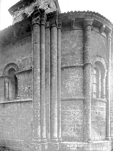 Eglise Partie de l'abside, au nord, Heuzé, Henri (photographe),