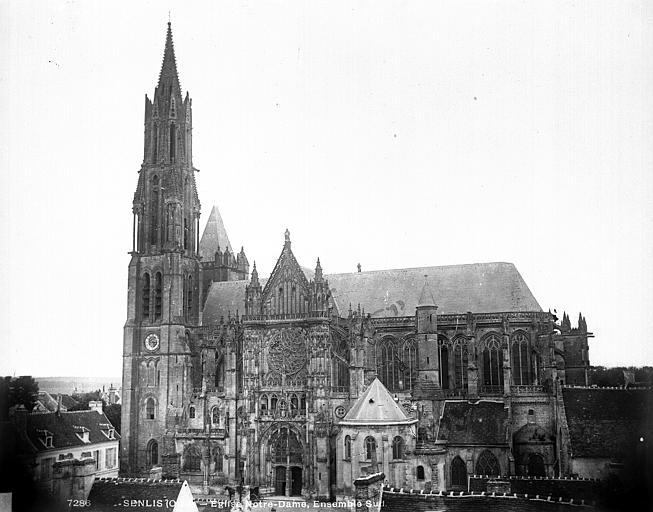 Cathédrale (ancienne) Ensemble sud, Durand, Eugène (photographe),