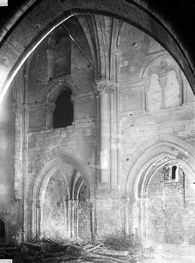 Chapelle Saint-Evremond Travée de la nef, Durand, Eugène (photographe),