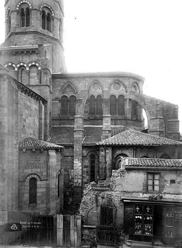Eglise Saint-Amable Façade sud, partie, Durand, Eugène (photographe),