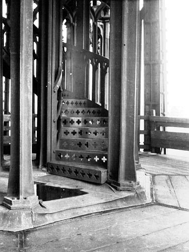 Cathédrale Partie basse de la tour : intérieur, Chaine, Henri (architecte),