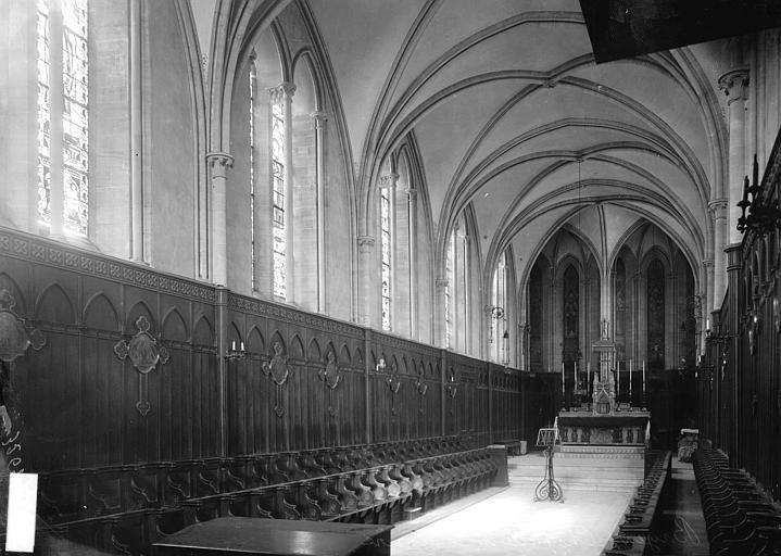 Chapelle du Séminaire Nef et choeur, Enlart, Camille (historien),