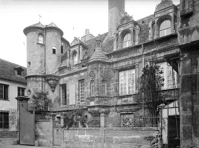 Hôtel de Mondrainville ou de la Monnaie (ancien) Vue d'ensemble, Durand, Jean-Eugène (photographe),