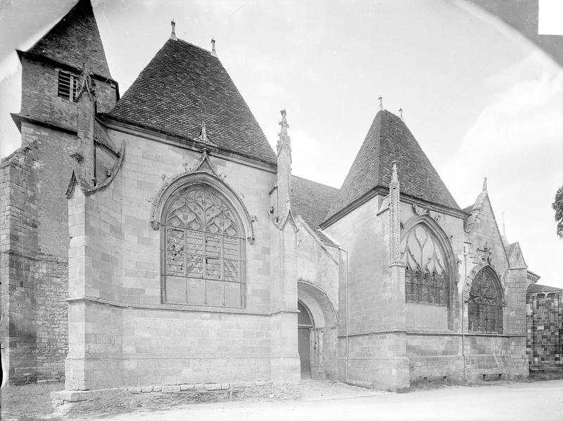Eglise Vue d'ensemble sud, Heuzé, Henri (photographe),
