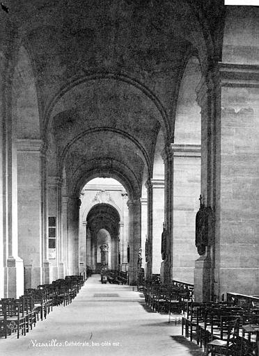 Cathédrale Saint-Louis Vue intérieure du bas-côté, Mieusement, Médéric (photographe),