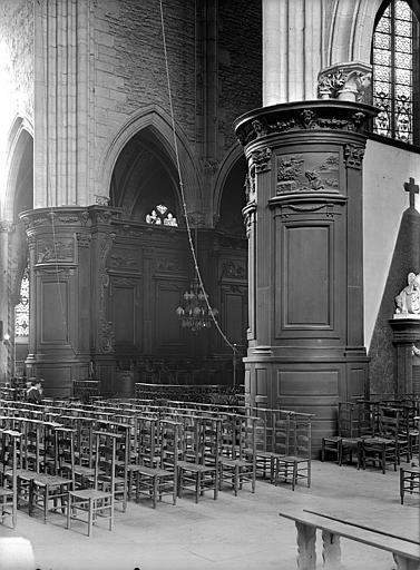 Eglise Saint-Michel Boiseries, Gossin (photographe),