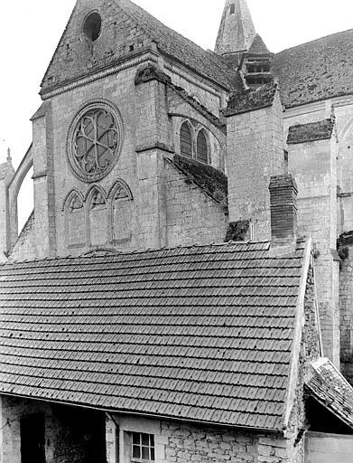 Eglise Saint-Lucien Façade nord : Transept, Chaine, Henri (architecte),