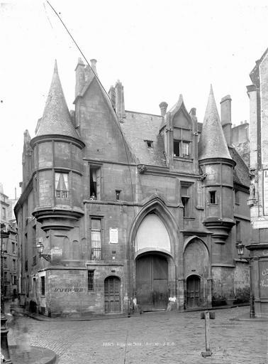 Hôtel de Sens Ensemble, Durand, Eugène (photographe),