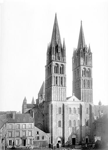 Eglise de Saint-Etienne-le-Vieux (ancienne) Ensemble ouest, Mieusement, Médéric (photographe),