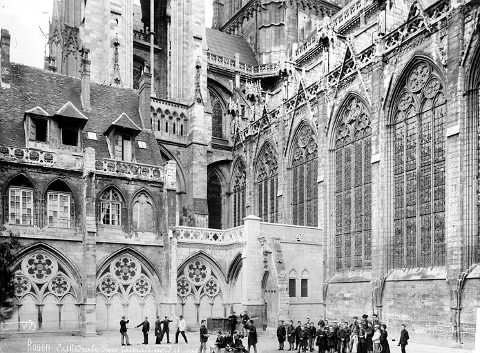Cathédrale Notre-Dame Façade nord et sacristie, Mieusement, Médéric (photographe),