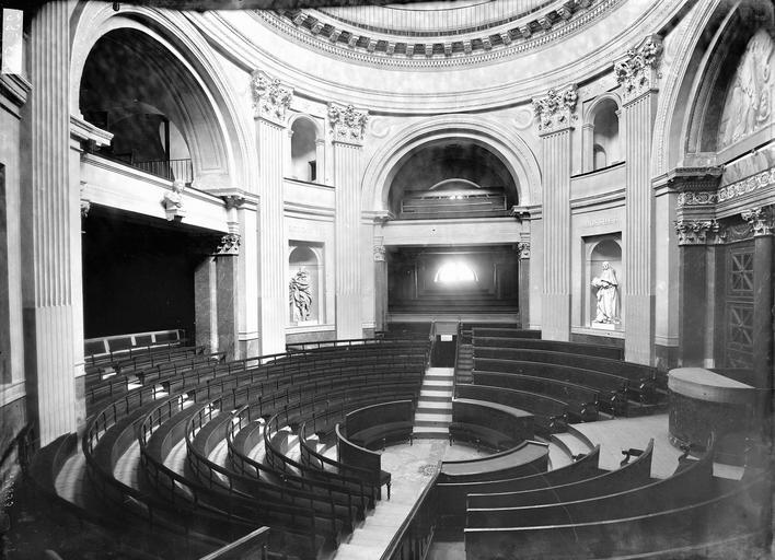 Palais de l'Institut Salle des séances, Durand, Eugène (photographe),