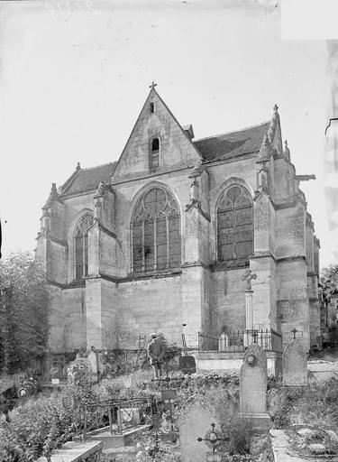 Eglise Chevet, Heuzé, Y.,