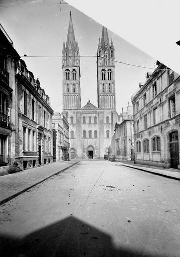 Eglise de Saint-Etienne-le-Vieux (ancienne) Ensemble ouest, Service photographique,