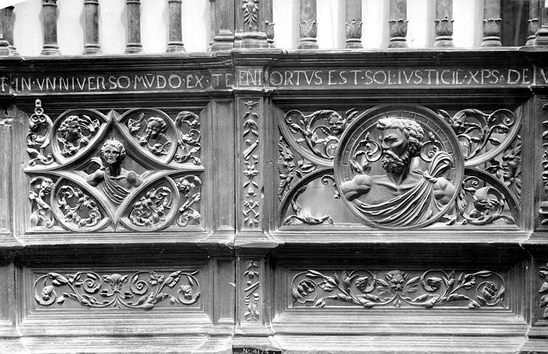 Cathédrale Notre-Dame Clôture des chapelles, Mieusement, Médéric (photographe),