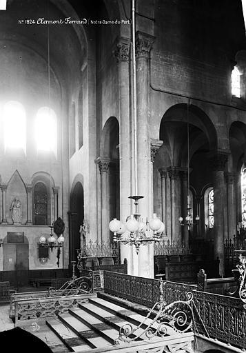 Eglise Notre-Dame-du-Port Transept, Durand, Eugène (photographe),