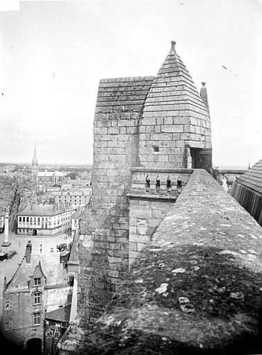 Cathédrale Saint-Pierre Tour nord : Couronnement de l'escalier, ,