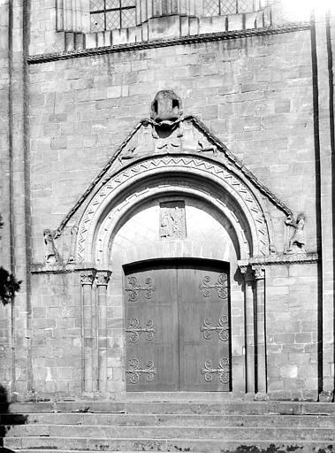 Eglise Sainte-Croix Portail de la façade ouest, Mieusement, Médéric (photographe),