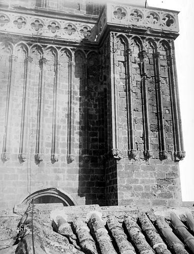 Cathédrale Saint-Nazaire (ancienne) Clocher, détail, ,