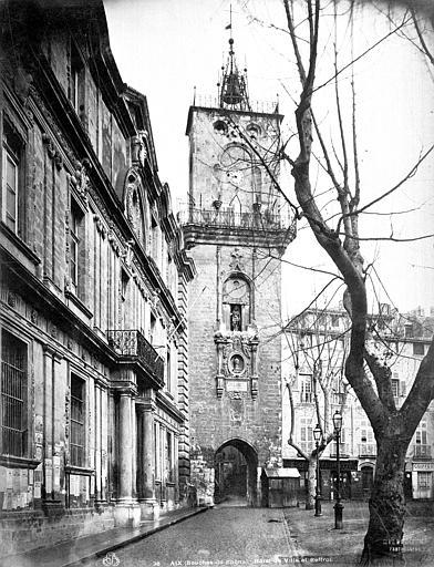 Hôtel de Ville;Beffroi Beffroi, façade sur la rue, Mieusement, Médéric (photographe),
