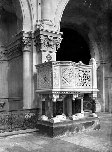 Cathédrale Notre-Dame Chaire, Mieusement, Médéric (photographe),
