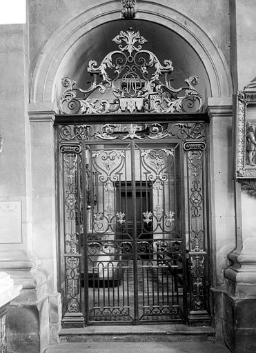 Eglise Notre-Dame ou de la Gloriette Grille du choeur, Heuzé, Henri (photographe),