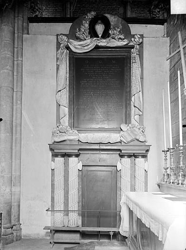 Eglise Saint-Michel Monument de Fyot de la Marche, Gossin (photographe),