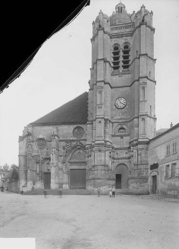 Eglise Ensemble ouest, Heuzé, Y.,