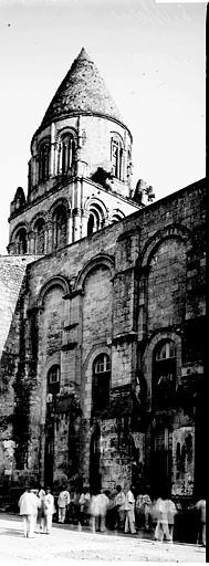 Eglise Sainte-Marie-des-Dames Clocher, Enlart, Camille (historien),