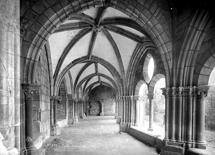 Cathédrale Saint-Martin Cloître : vue intérieure de la galerie ouest, Mieusement, Médéric (photographe),