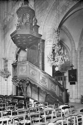 Eglise de Saint-Etienne-le-Vieux (ancienne) Chaire, Service photographique,