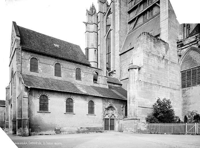 Cathédrale Saint-Pierre Basse œuvre : vue d'ensemble côté est, Mieusement, Médéric (photographe),