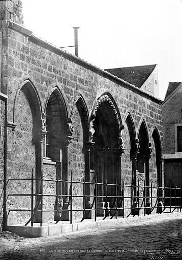 Hôtel-Dieu (ancien) Chapelle (restes), Le Secq, Henri (photographe),