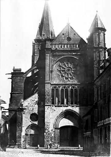 Eglise Saint-Etienne Façade ouest, Le Secq, Henri (photographe),