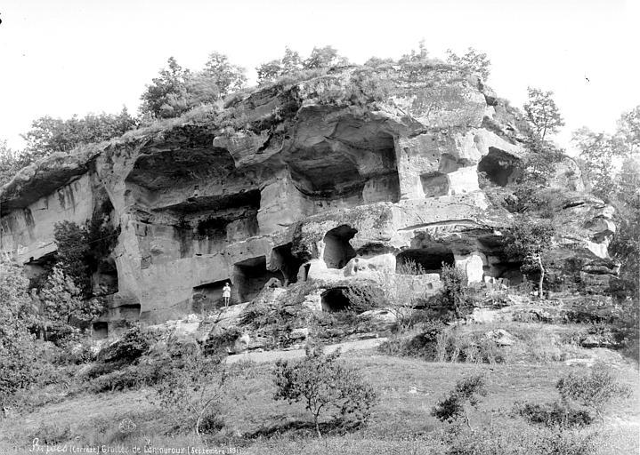 Grottes de Lamouroux Vue d'ensemble, Mieusement, Médéric (photographe),