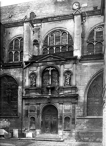 Eglise Saint-Nicolas Façade ouest, Durand, Eugène (photographe),