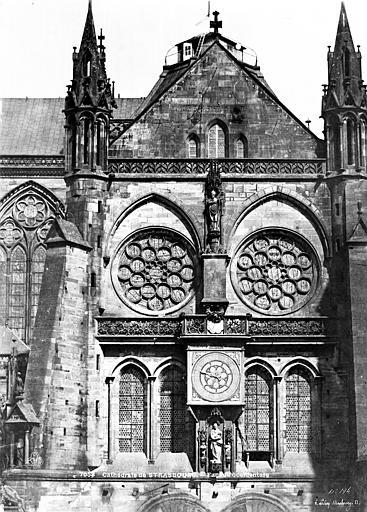 Cathédrale Notre-Dame Transept sud : Partie supérieure, Le Secq, Henri (photographe),